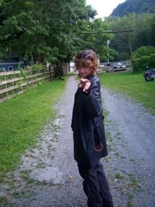 Terri rocking the Luther Barn.